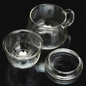 Coffee Mug Tea Glass Cup Set