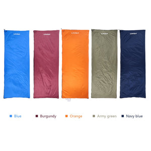 Ultra-light Sleeping Bag with Double Sided Zipper
