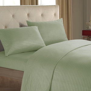 Fashionable stripe cotton Soft Bedding Set