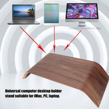 Load image into Gallery viewer, Samdi Wooden Laptop  Stand