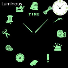 將圖片載入圖庫檢視器 27 different designs Luminous Wall Clock