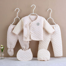 Load image into Gallery viewer, 5Pcs Newborn Baby Cotton Set