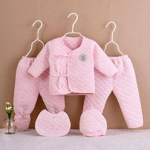 5Pcs Newborn Baby Cotton Set