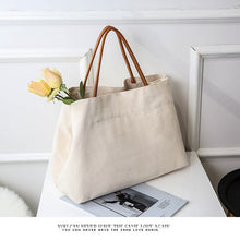 Load image into Gallery viewer, Classic Canvas Tote Bag