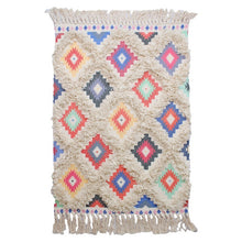 Load image into Gallery viewer, Morocco Cotton Hand Woven Printed Area Rugs