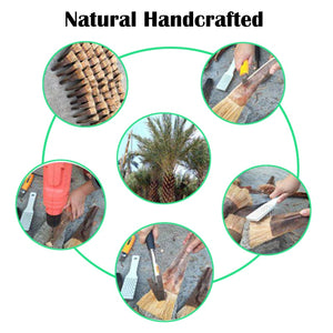 Natural  Coconut Palm Brush
