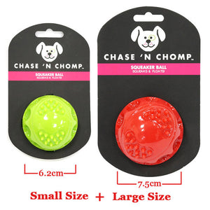 Dog Toys Squeaking Bouncing Ball