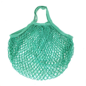 Large Cotton Mesh Totes Shopping Bag