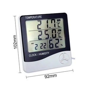 Humidity Clock Thermometer
