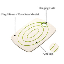Load image into Gallery viewer, Wheat Straw Cutting Board 2pcs/Set