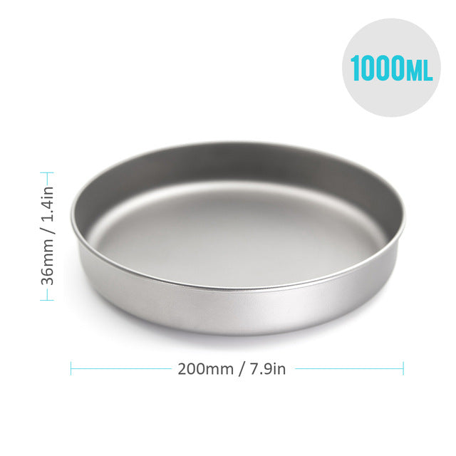 Titanium Ultralight  Frying Pan