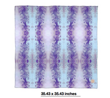 將圖片載入圖庫檢視器 Purple Resin Tone Scarf Wrap or Shawl