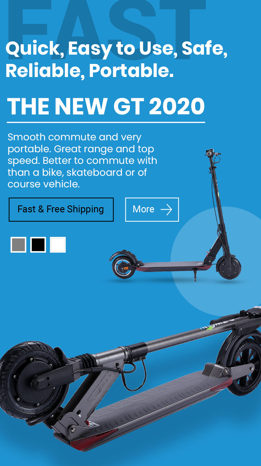 The New GT 2020 In Stock Electric Scooter  Mobile