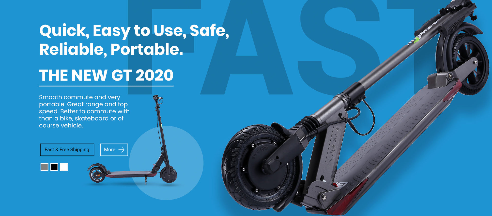 The New GT 2020 In Stock Electric Scooter