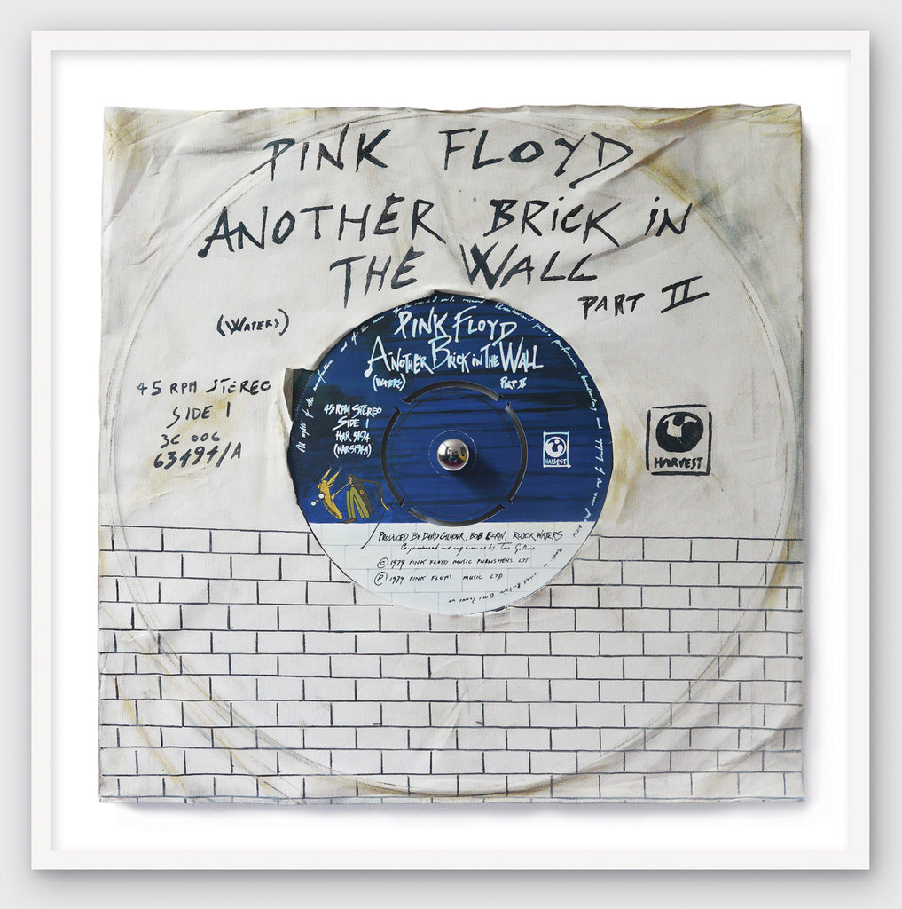 """Another Brick In The Wall Part 2"" by Pink Floyd Limited Edition Print of Original Painting"