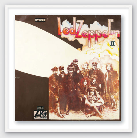 Led Zep II'' by Led Zeppelin Limited Edition Poster Prints of Original Painting