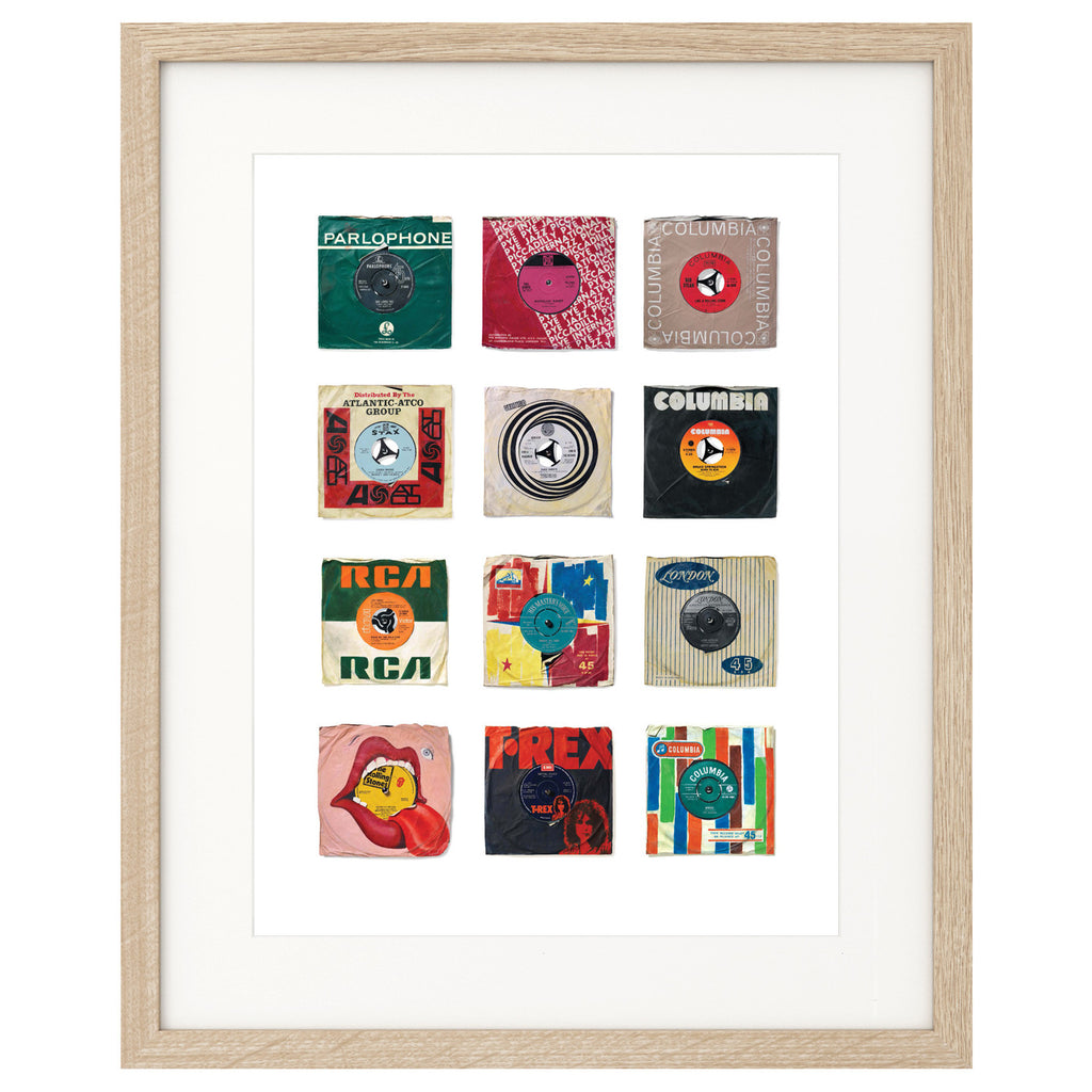 """12 Songs"" by Various Artists Vol 1 Edition Print of Original Painting"