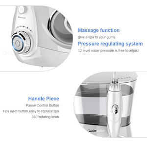 Waterpulse V660 Water Flosser Electric Dental Countertop Professional Oral Irrigator For Teeth