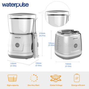 Waterpulse V700 Water Flosser Electric Dental Countertop Professional Oral Irrigator For Teeth