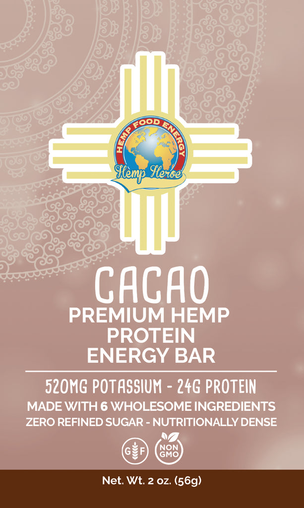 Cacao Hemp Protein Energy Bar