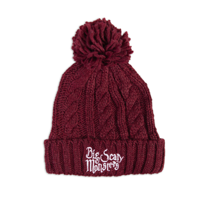Big Scary Monsters Embroidered Bobble Hat