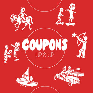 Coupons - Up & Up LP