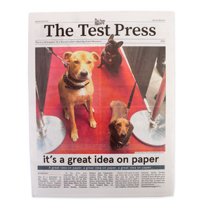 The Test Press newspaper