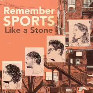 Remember Sports – Like a Stone - LP