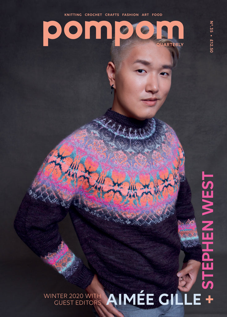 PREORDER Issue 35: pompom quarterly Winter 2020