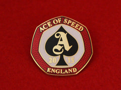 2015 ACE OF SPEED Badge