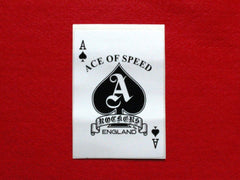 ACE OF SPEED Card Sticker