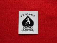ACE OF SPEED Mini Sticker