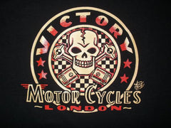 VICTORY Skull and Pistons T-shirt