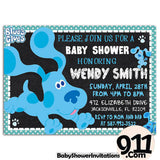 Blues Clues Birthday Party Invitation Ak 23032020, Personalize-Invitation | BabyShowerInvitations911.com