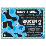 Blues Clues Birthday Party Invitation Ak1 23032020, Personalize-Invitation | BabyShowerInvitations911.com