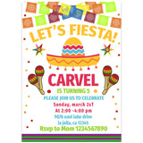 Fiesta Birthday Party Invitation, Fiesta Theme Birthday Party Invitation Corjl