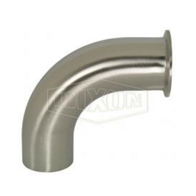 2CM - 90 Clamp x Buttweld Elbow, Polish ID/OD