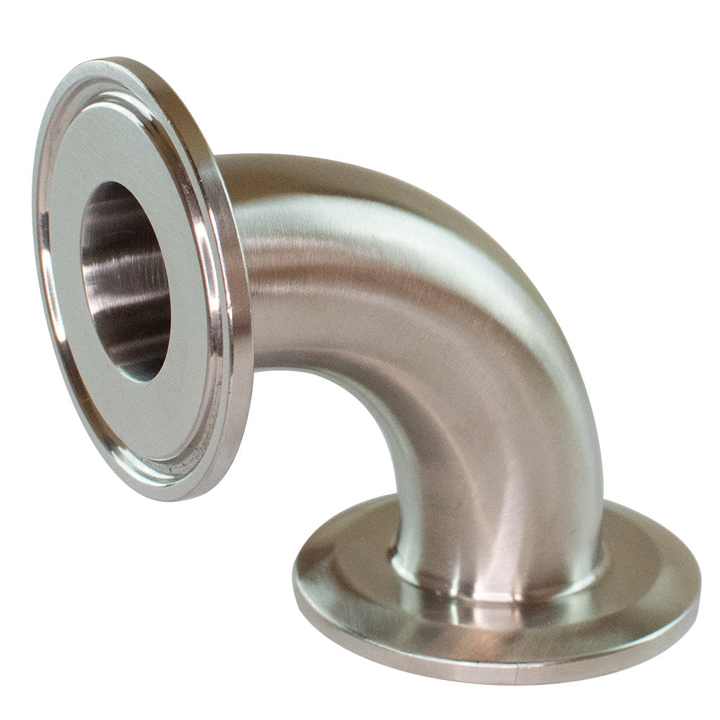 2CMP - Elbow with Tri-Clamp Ferrules