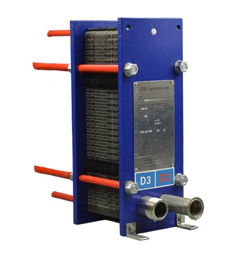 CPE30H-XXD Plate Heat Exchanger Front