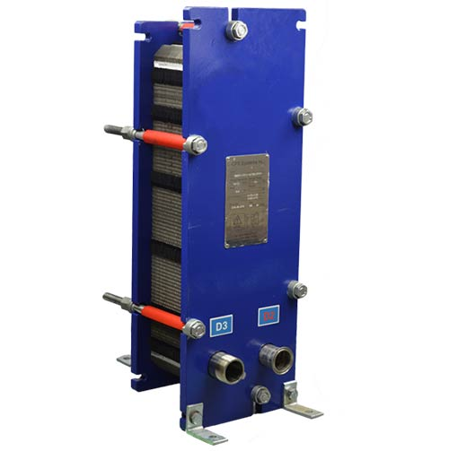 CPE60H-XXD Plate Heat Exchanger front