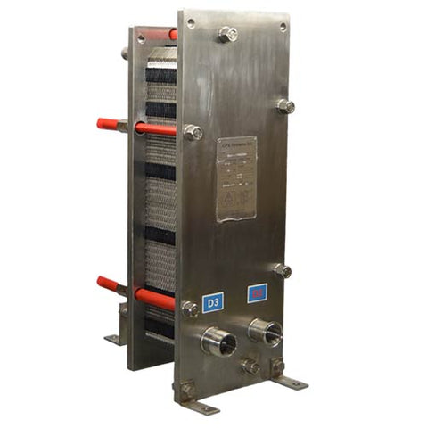 CPE60H-XXD Stainless Steel Plate Heat Exchanger front