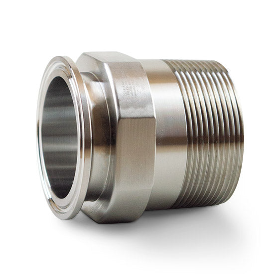 21MP - Tri-Clamp x Male NPT Adapters
