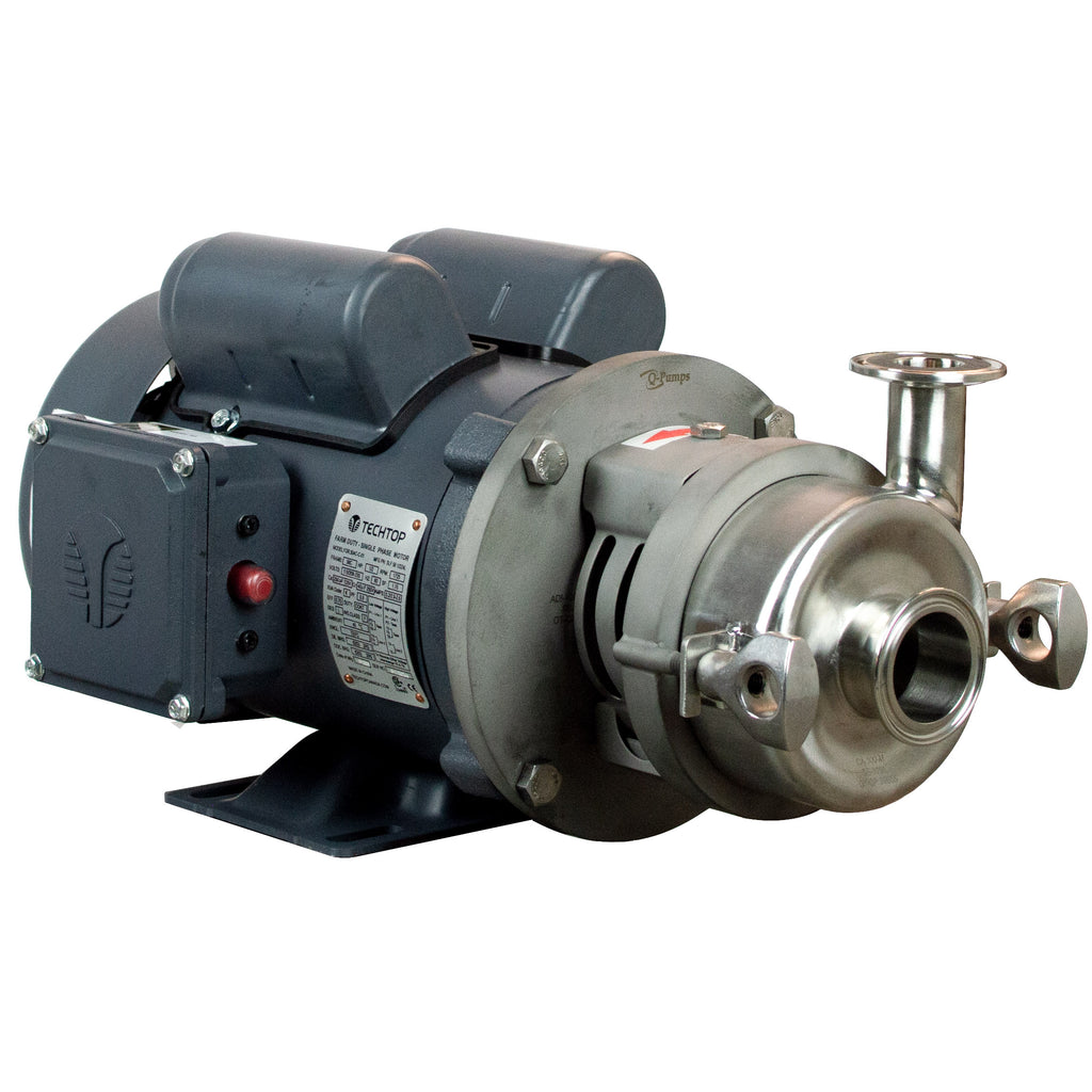 C+100MD Pump With TEFC Motor