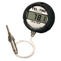 Digi-Tel Industrial Thermometer ND4R With Tapered Bulb