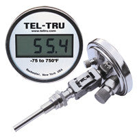 Digi-Tel Industrial Thermometer ND5A With Tapered Bulb