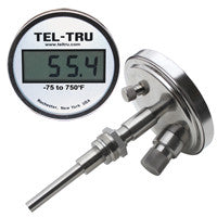 Digi-Tel Industrial Thermometer ND5B With Tapered Bulb