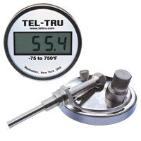 Digi-Tel Industrial Thermometer ND5 With Tapered Bulb