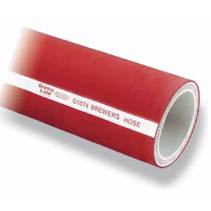 Butyl Rubber Brewers Hose with TC ends