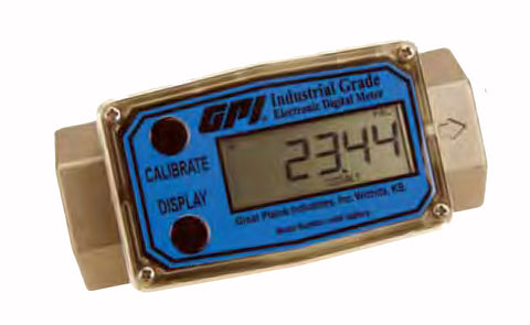 G2 Industrial Meters Stainless Steel