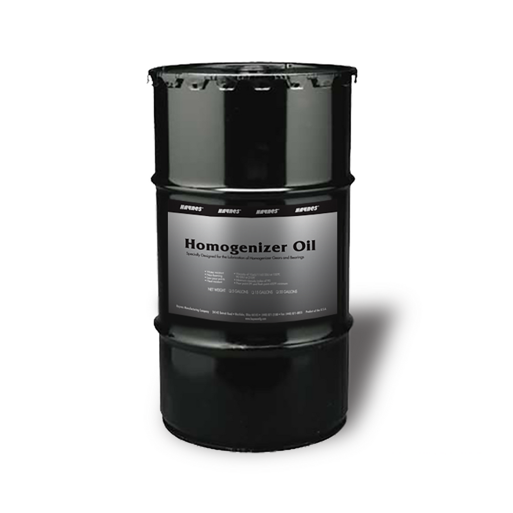 Haynes Homogenizer Oil